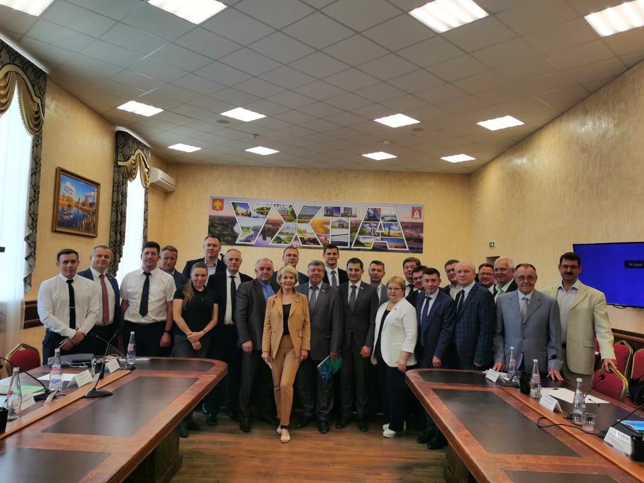 Выездное расширенное заседание развития Арктической зоны РФ в г. Ухта